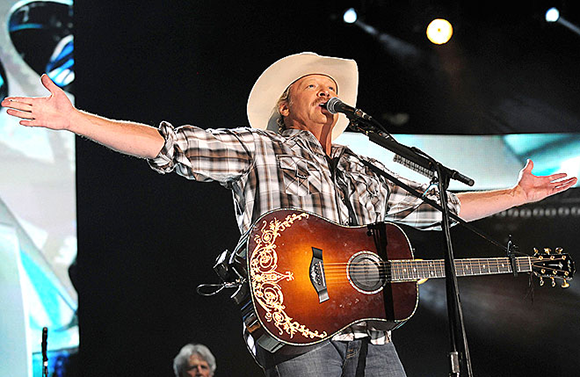 Alan Jackson, Jon Pardi & Brandy Clark at Red Rocks Amphitheater