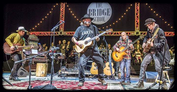 Neil Young & Promise of the Real at Red Rocks Amphitheater