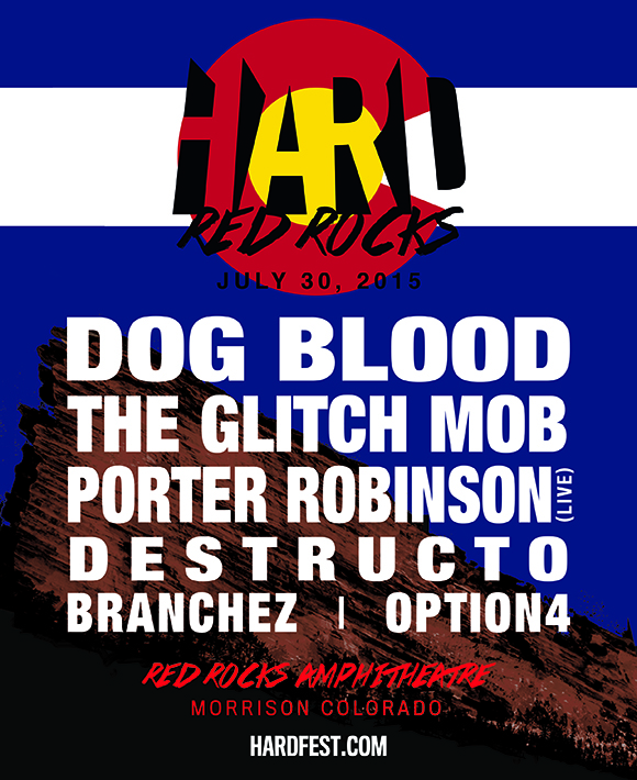 HARD Red Rocks: Dog Blood at Red Rocks Amphitheater