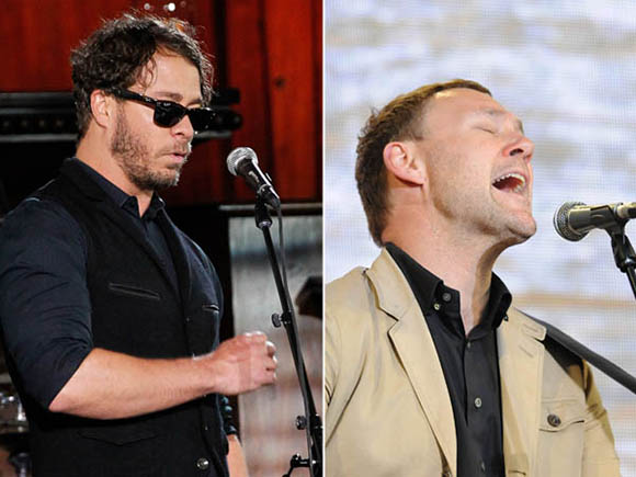 David Gray & Amos Lee at Red Rocks Amphitheater