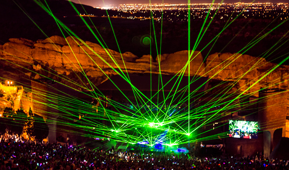 Global Dance Festival: Tiesto, Kaskade, Flosstradamus - 3 Day Pass at Red Rocks Amphitheater