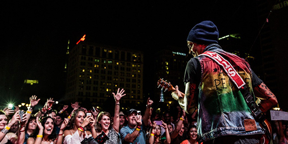 Michael Franti and Spearhead, JJ Grey and Mofro & The Revivalists at Red Rocks Amphitheater