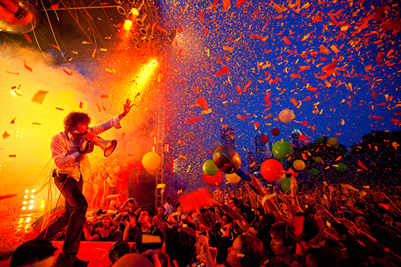 The Flaming Lips at Red Rocks Amphitheater