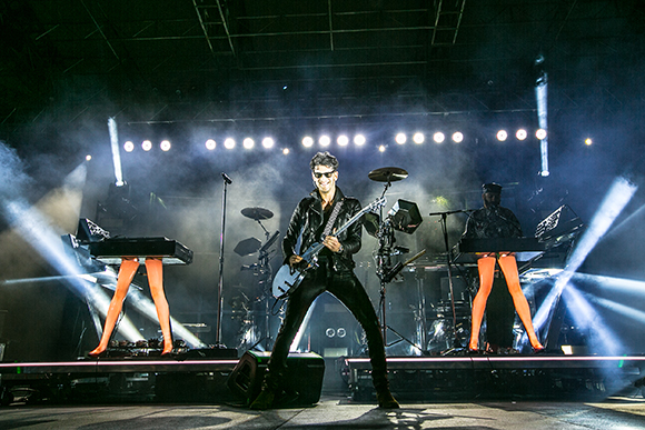 Chromeo & Jamie XX at Red Rocks Amphitheater