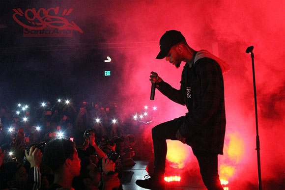 Bryson Tiller at Red Rocks Amphitheater