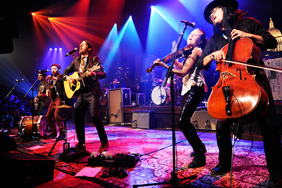 The Avett Brothers & J. Mascis at Red Rocks Amphitheater