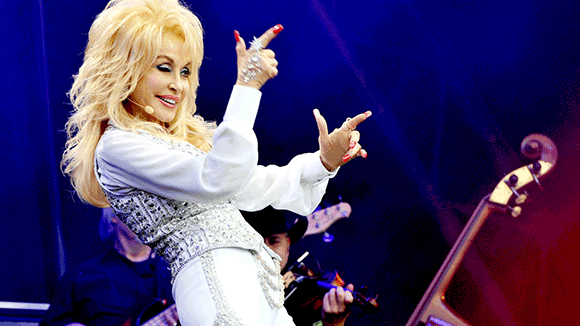 Dolly Parton at Red Rocks Amphitheater
