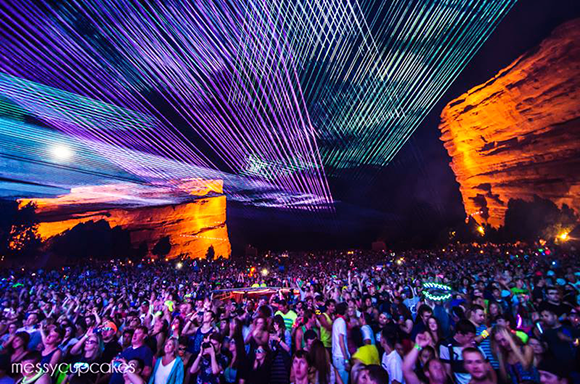 Global Dance Festival - Saturday at Red Rocks Amphitheater