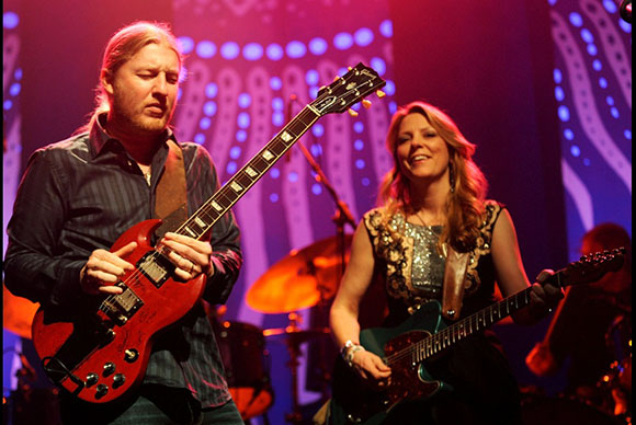 Tedeschi Trucks Band, Los Lobos & North Mississippi All-Stars at Red Rocks Amphitheater