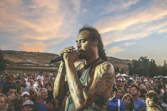 Michael Franti And Spearhead & Zella Day at Red Rocks Amphitheater