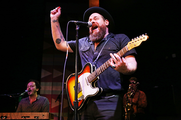 Nathaniel Rateliff & The Night Sweats at Red Rocks Amphitheater