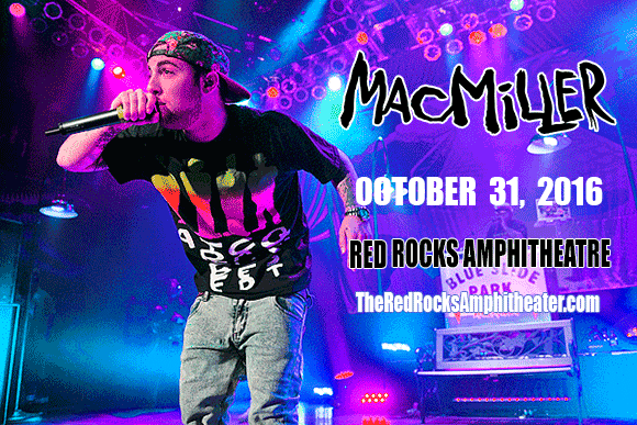 Mac Miller at Red Rocks Amphitheater