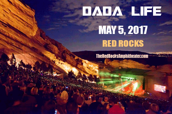 Dada Life at Red Rocks Amphitheater