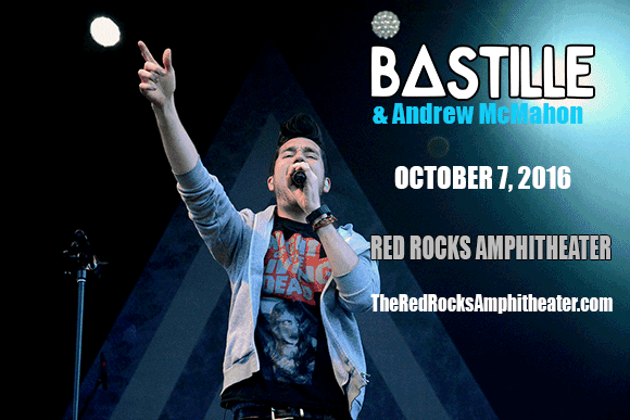 Bastille & Andrew McMahon at Red Rocks Amphitheater
