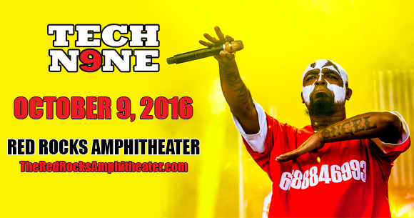 Tech N9ne at Red Rocks Amphitheater