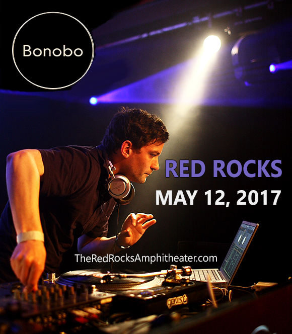 Bonobo & Nick Murphy  at Red Rocks Amphitheater
