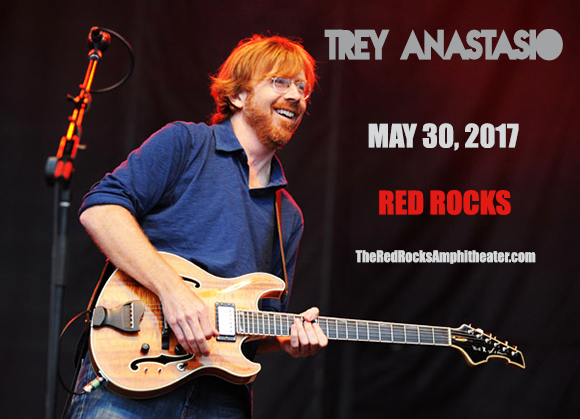 Trey Anastasio at Red Rocks Amphitheater