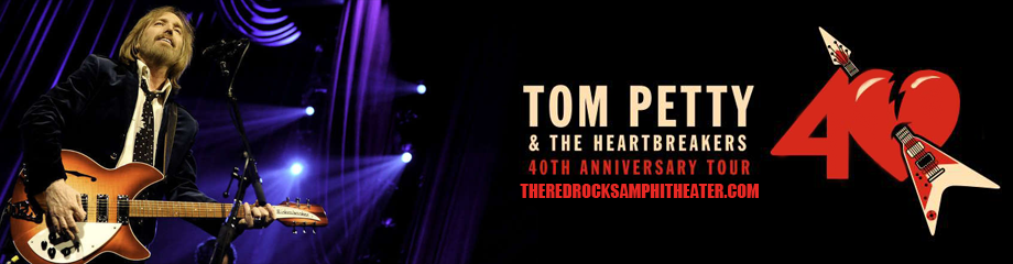 Tom Petty And The Heartbreakers & Joe Walsh at Red Rocks Amphitheater