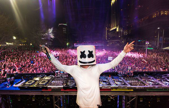 Marshmello at Red Rocks Amphitheater