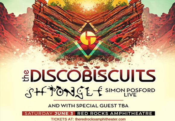 The Disco Biscuits & Shpongle at Red Rocks Amphitheater