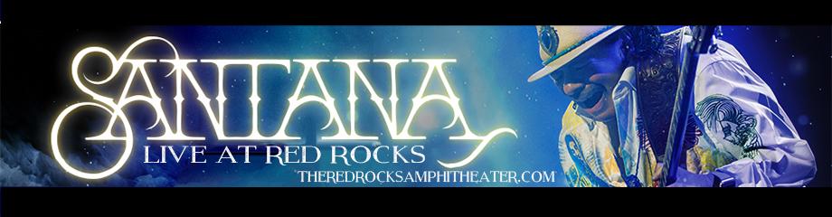 Santana at Red Rocks Amphitheater