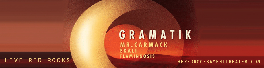 Gramatik at Red Rocks Amphitheater