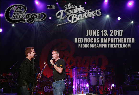 Chicago - The Band & The Doobie Brothers at Red Rocks Amphitheater
