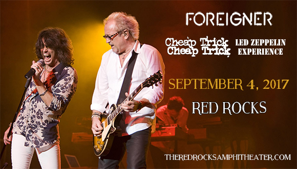Foreigner & Cheap Trick at Red Rocks Amphitheater
