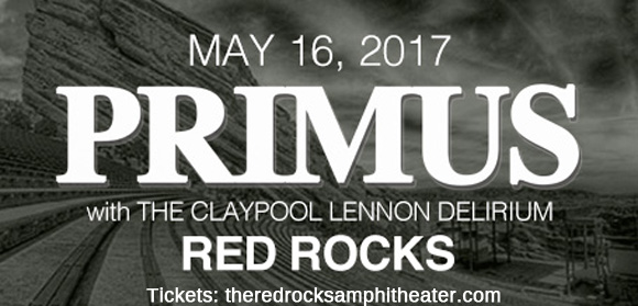 Primus & The Claypool Lennon Delirium at Red Rocks Amphitheater