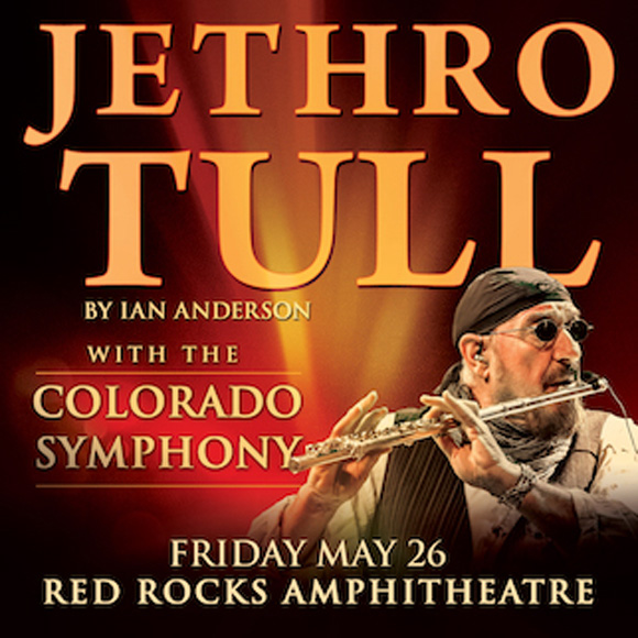Jethro Tull at Red Rocks Amphitheater