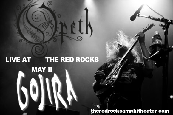 Opeth & Gojira at Red Rocks Amphitheater