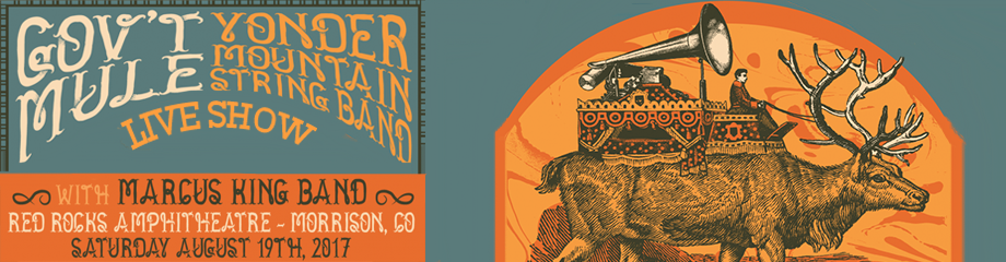 Gov't Mule & Yonder Mountain String Band at Red Rocks Amphitheater