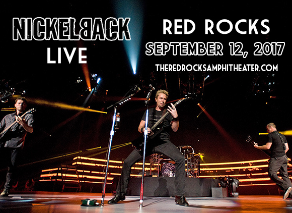 Nickelback & Daughtry at Red Rocks Amphitheater