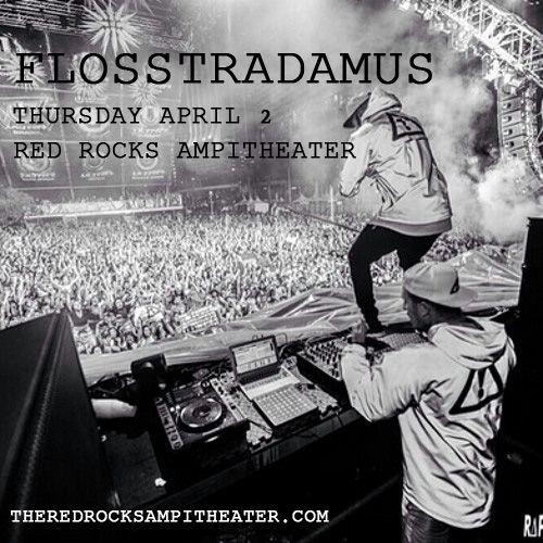 Flosstradamus at Red Rocks Amphitheater