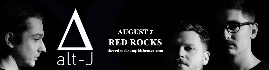 Alt-J at Red Rocks Amphitheater