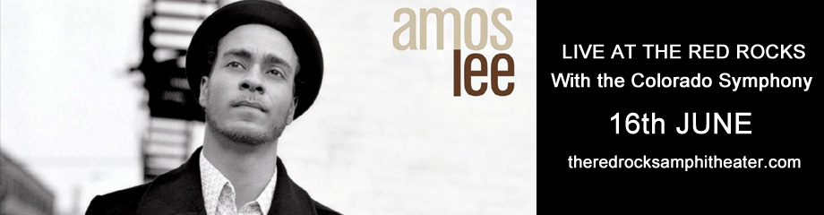 Amos Lee & Colorado Symphony at Red Rocks Amphitheater