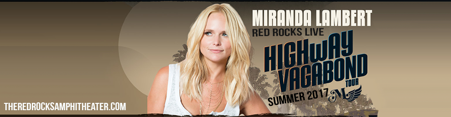 Miranda Lambert at Red Rocks Amphitheater