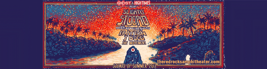 Slightly Stoopid, Iration & J Boog at Red Rocks Amphitheater