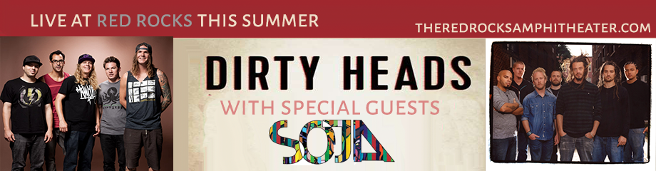 The Dirty Heads & Soja at Red Rocks Amphitheater