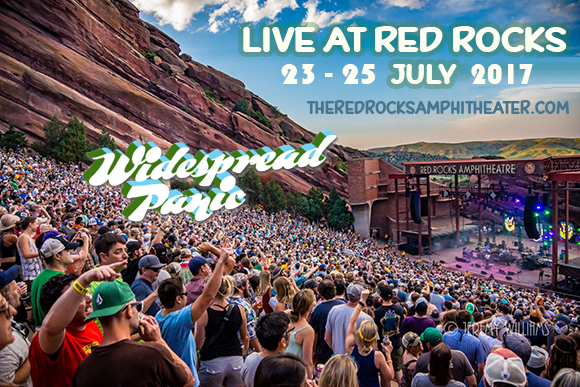 Widespread Panic at Red Rocks Amphitheater