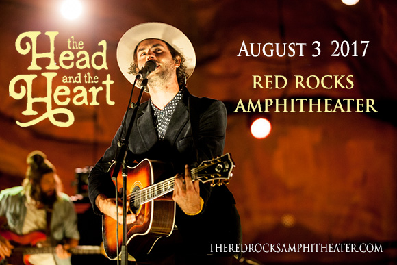 The Head and The Heart at Red Rocks Amphitheater