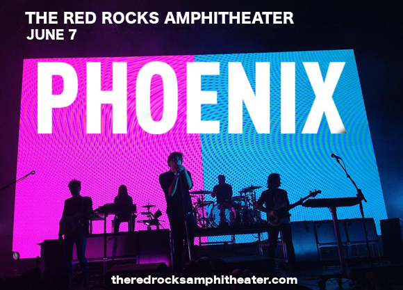 Phoenix & Miike Snow at Red Rocks Amphitheater