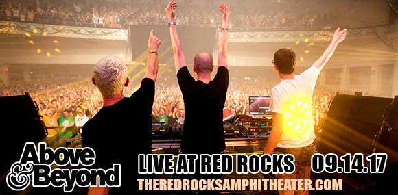 Above and Beyond at Red Rocks Amphitheater