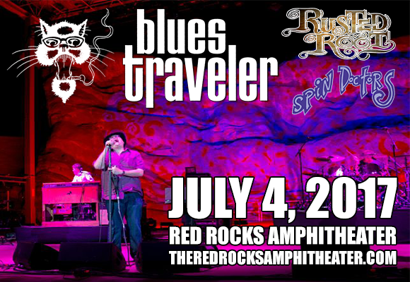 Blues Traveler, Rusted Root & Spin Doctors at Red Rocks Amphitheater