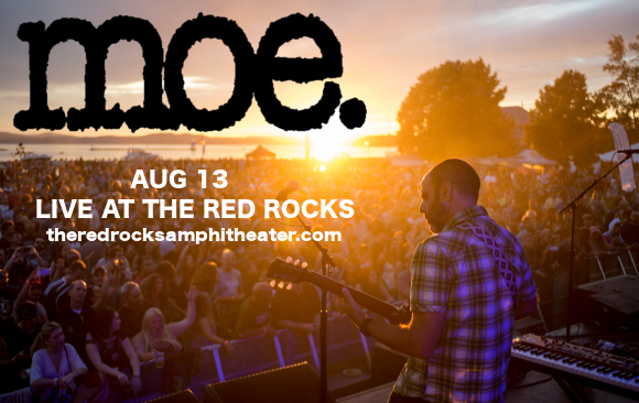moe. & Twiddle at Red Rocks Amphitheater