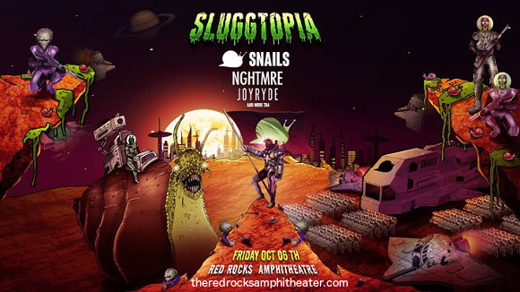 Snails & Nghtmre at Red Rocks Amphitheater