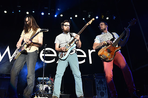 Weezer at Red Rocks Amphitheater