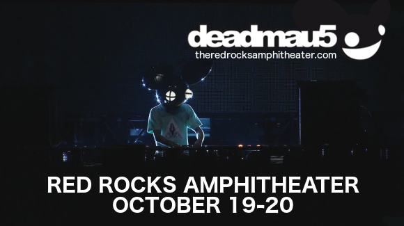 Deadmau5 at Red Rocks Amphitheater