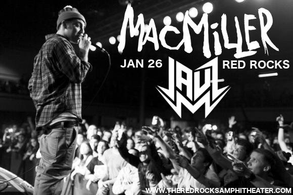 Icelantic's Winter on the Rocks: Mac Miller & Jauz at Red Rocks Amphitheater