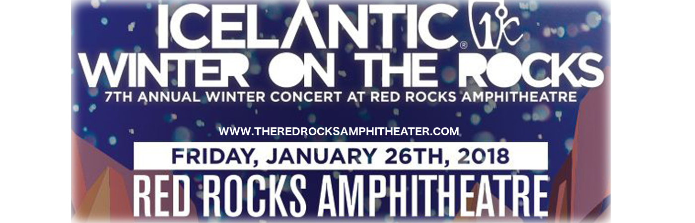 Icelantic's Winter on the Rocks: Mac Miller & Jauz at Red Rocks Amphitheater
